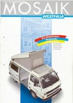 Vw camper t3 seconda parte 1986 1992 for Mobili westfalia